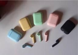 Fone De Ouvido Sem Fio I7 Mini Tws Várias Cores Bluetooth