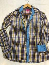 Camisa casacos variadas grifes