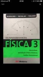 Livro de Física -Os Fundamentos da Física 3