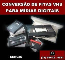 Conversão de fitas VHS para arquivo digital