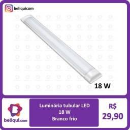 Título do anúncio: Lâmpada LED Tubular 18W   Possui 60 cm de comprimento