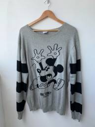 Tricô Disney Mickey Mouse G masculino