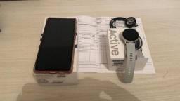 Samsung Galaxy S20 Fe (Operadora Claro) + Smartwatch Active
