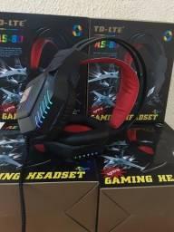 Fone De Ouvido Gamer Headset Com Led Pc fazemos entrega (fazemos entregas).