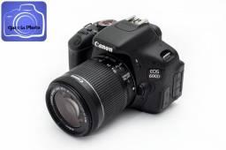 Canon Eos Rebel 600d T3i 18-55mm Stm 3700 Cliques Novíssima