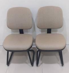 2 Cadeiras Ergonômicas Fixas
