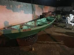 Canoa Semi-nova (usada 3x) R$1.500,00