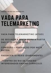 VAGA PARA TELEMARKETING