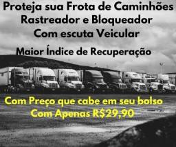 Rastreador - Bloqueador - Escuta Veicular - Para Caminhão