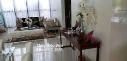 Espetacular: 4 suítes, escritório, lazer. Marina R Belo. Mobiliada