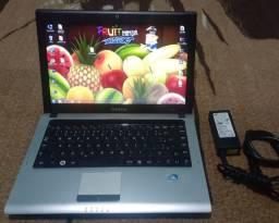 Notebook Samsung Rv 410 , 250hd , 4ram , leiam a descrição do anúncio