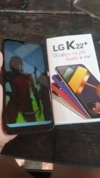 Smartphone LG O K 22 usado