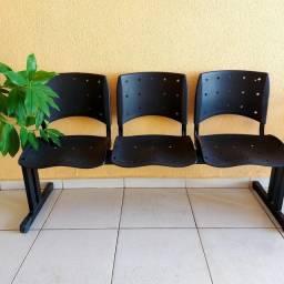 Conjunto 3 cadeiras PRA VENDER LOGO