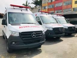 Mercedes-Benz Sprinter 416 Longa Ambulância UTI