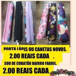 2.00 reais cada  porta lápis novos/ últimas peças _ chama no Whatsapp