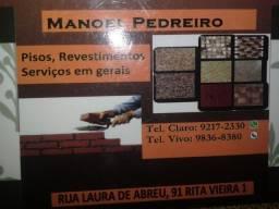 *PEDREIRO EMPREITEIRO *