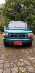 Título do anúncio: F1000 97/98 Gasolina 4.9L 145CV -  Completa - Cor Verde Metálica