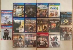 GTA 5, GTA 4, Minecraft, The Sims, FarCry 5, Dragon Age, Batman e Muito Mais