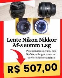 Lente Nikon Nikkor Af-s 50mm 1.8g