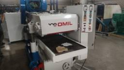 Título do anúncio: Plaina Omil 2 faces  Pl 630  mm largura , com garantia.