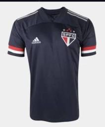 Camisa São Paulo IlI 20/21 s/n° Torcedor Adidas Masculina - Preta