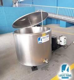 Resfriador de leite usado 650 LTS Etscheid totalmente revisado
