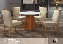 Mesa monaco com 4 cadeiras RN GGA617