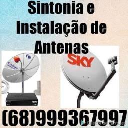 Técnicos em antenas