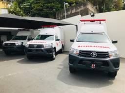 Toyota Hilux 4x4 Ambulância