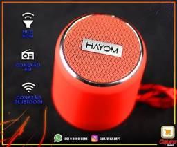 Caixa de Som Portátil Bluetooth - CP2703 Hayom t13sd5sd21
