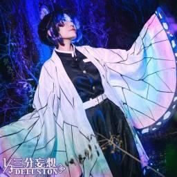 Cosplay novo Shinobu Kocho Kimetsu no Yaiba