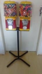vending machine Máquina de Chiclet e bolinha pulapula baixei preço +brinde+Aceito trocas.