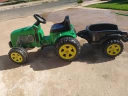 Trator infantil pedal