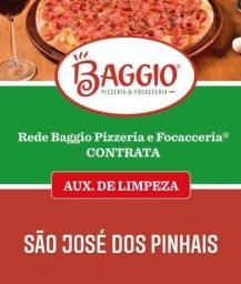 VAGA PARA AUXILIAR DE LIMPEZA EM SÃO JOSÉ DOS PINHAIS