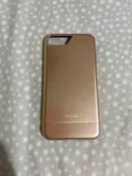 Capinha VX case dourada iPhone 7/8 plus