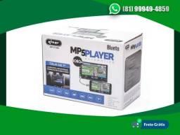Multimídia 7pol Automotiva Mp5 Knup Bluetooth E Espelhamento