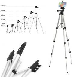 Tripé Universal Para Câmera E Celular