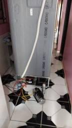 Conserto de geladeira e freezer.