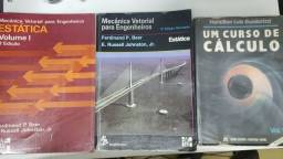 Livros engenharia Mecânica Vetorial e Calculo