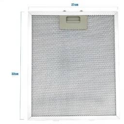 Filtro Alumínio Metálico 27x32cm