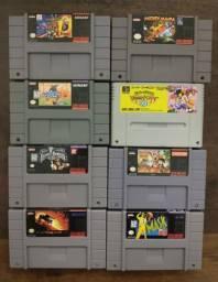 Cartuchos de Super Nintendo