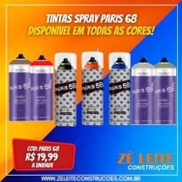 Título do anúncio: Tintas Spray Paris 68 400ml - Disponivel Em Todas As Cores
