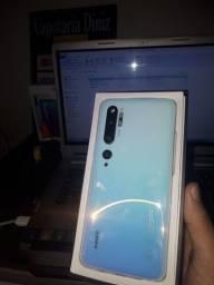 Mi Note 10 Glacier White 6GB Ram 128GB memória