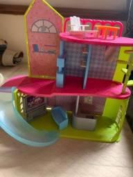 Casa da Poly com peças
