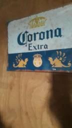 Quadro de metal  / Cerveja.40 x30 x 2 cm