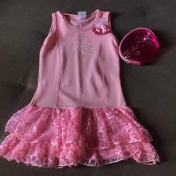 Vestido Princesas Tamanho 4