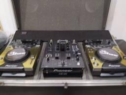 Cdj 400 e mix djm 400 Pioneer