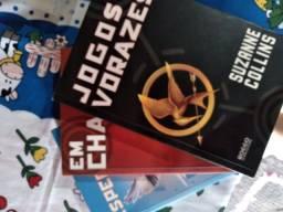 Vendo livros jogos vorazes