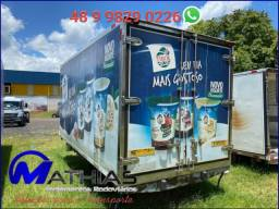 Carroceria refrigerada 4.50mts sem ap de frio usada Mathias implementos