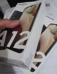 Lacrado, Samsung A12 novo, nota fiscal e garantia de 1 ano, menor preço só aqui